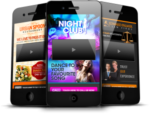 Orange Mobile Website Design For Your Restaurant